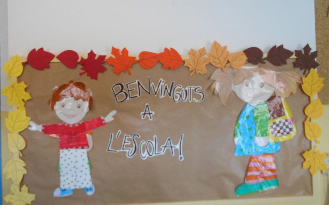 BENVINGUTS A L'ESCOLA